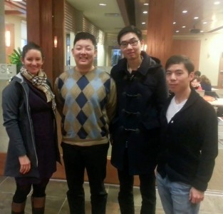 Joanna Verweel (Manager of Health and Sport Science at SOBC), Greg Lee, Hwan Lee, Brian Cho